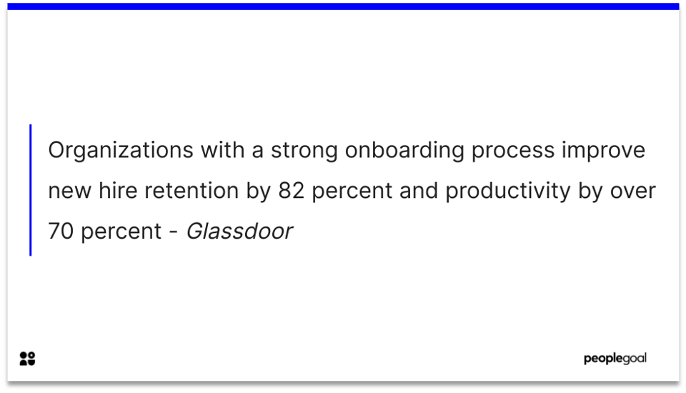 employee onboarding - 70%