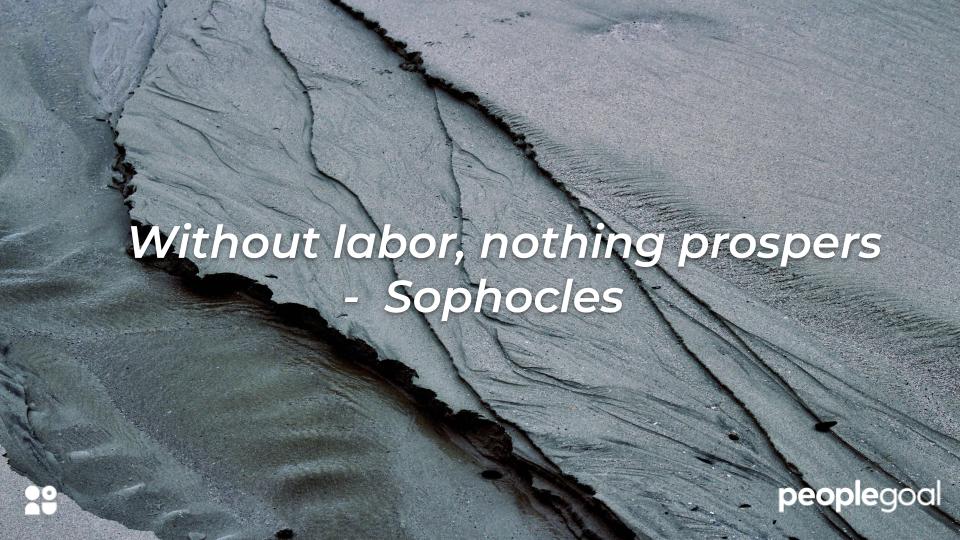 Sophocles labor quote