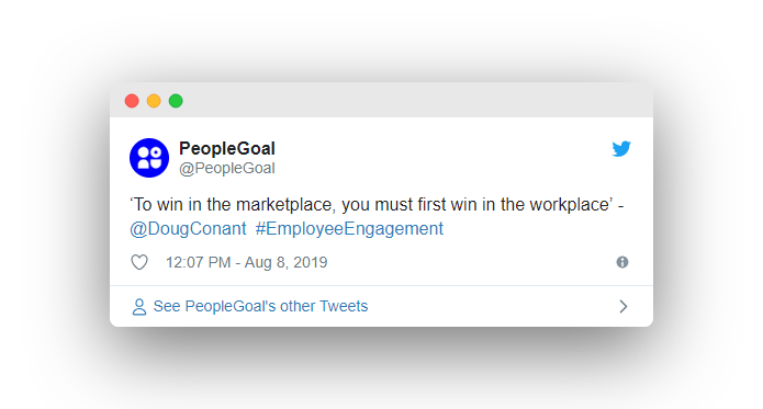 Employee Engagement - PeopleGoal