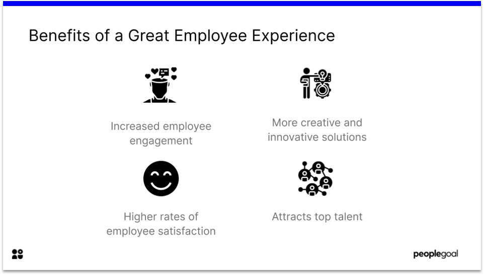 Benefits of Great Employee Experience