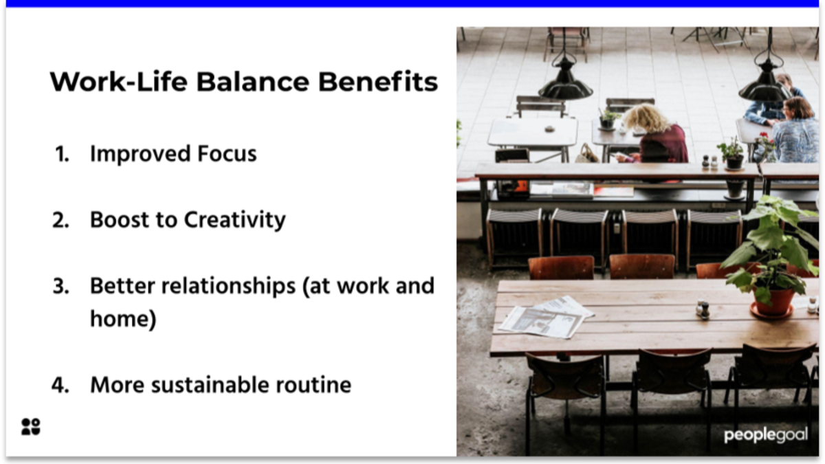 Work-Life Balance Benefits for Healthy Company Culture