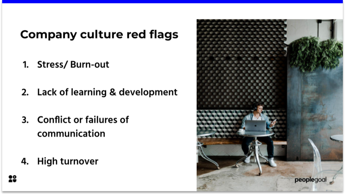Some company culture red flags