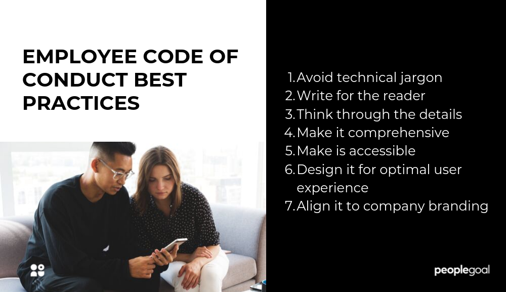 Employee Code Of Conduct Best Practices And Examples Peoplegoal