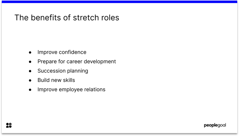 Stretch roles for better employee experience