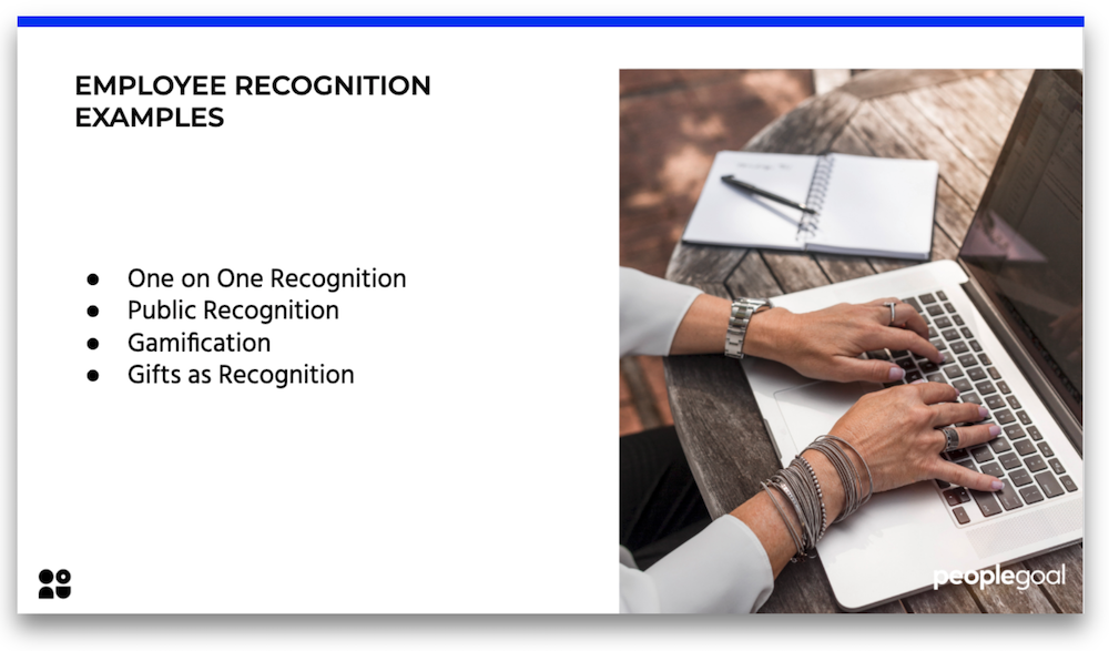 employee recognition examples