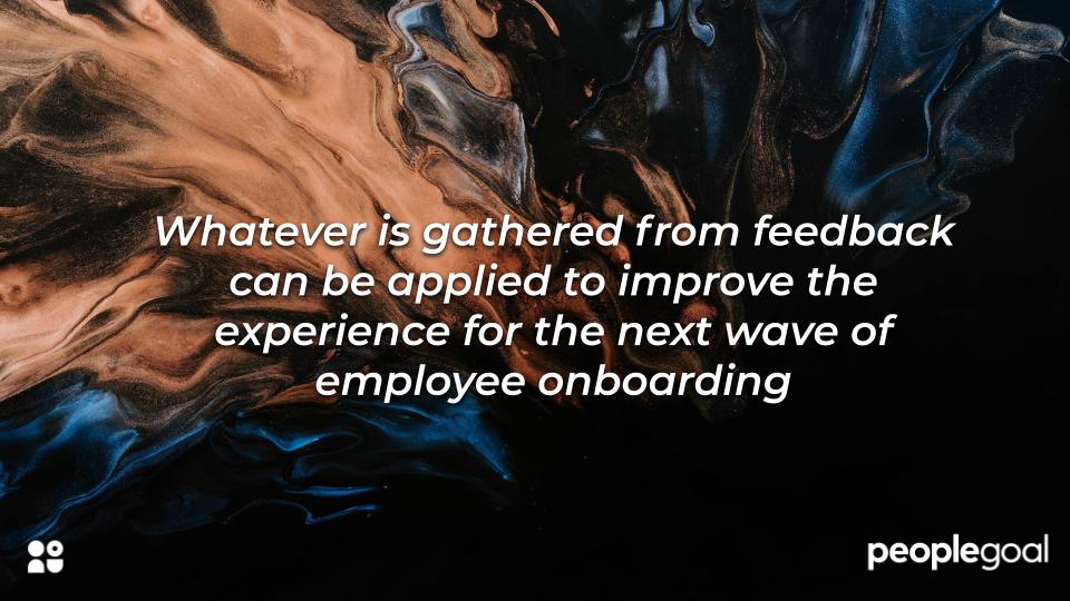 Importance of feedback for employee onboarding