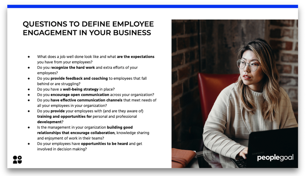 defining employee engagement in your business