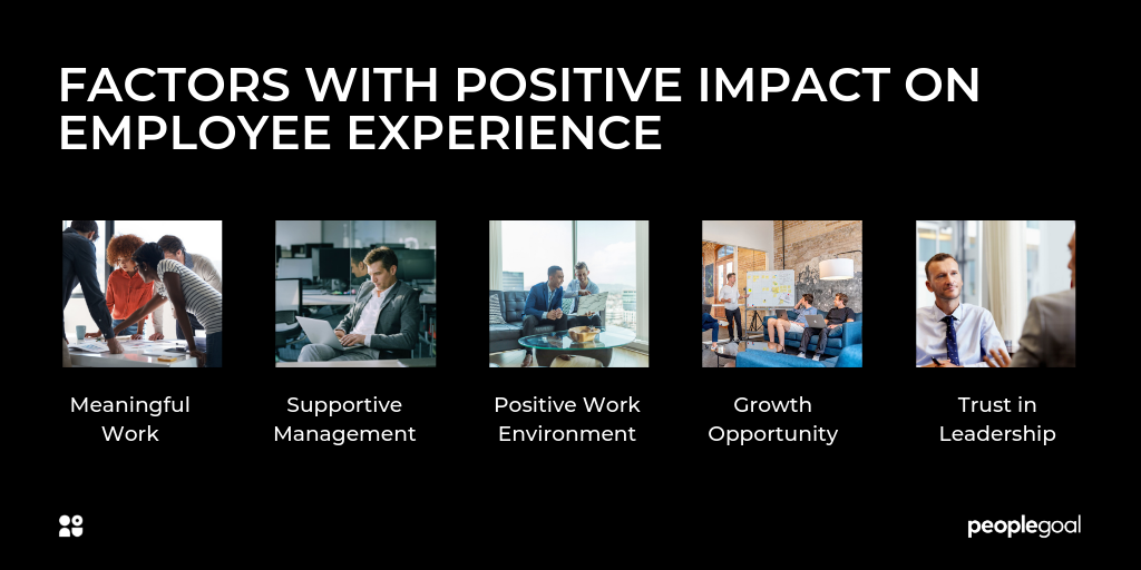 FACTORS WITH POSITIVE IMPACT ON EMPLOYEE EXPERIENCE