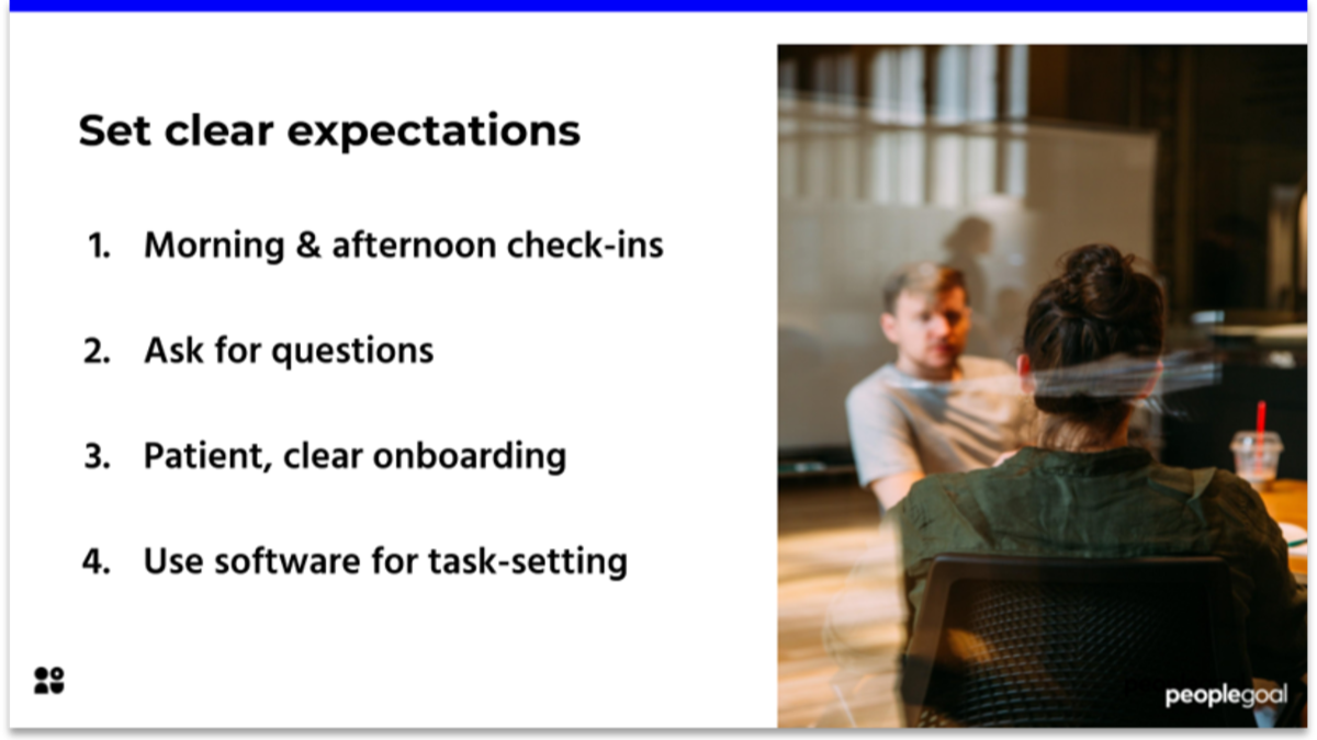 Clear Expectations for Employee Relations