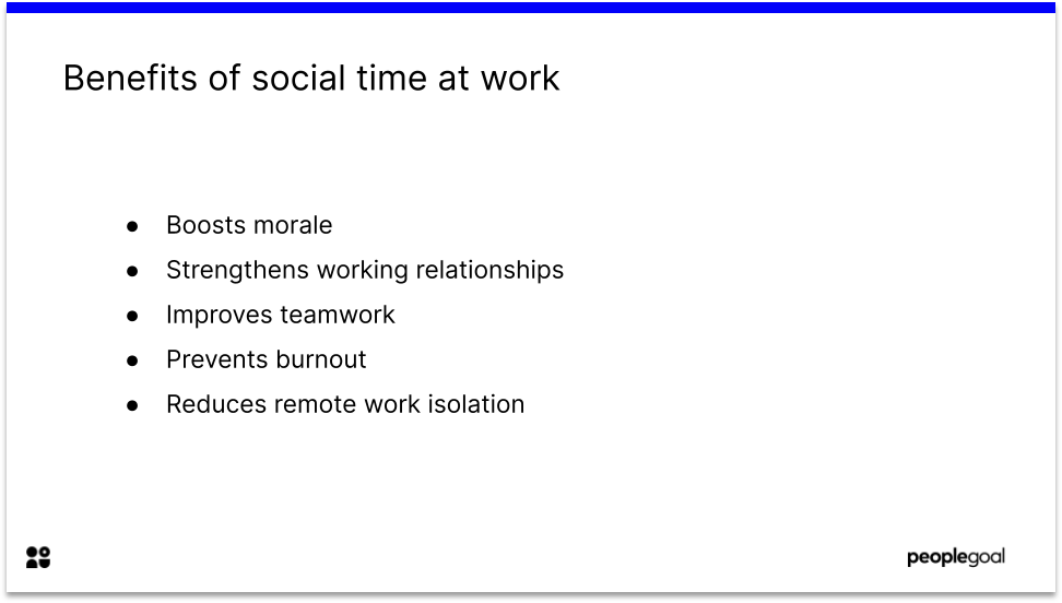 Benefits of Social Forms of Employee Recognition