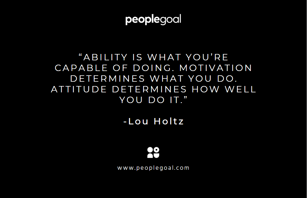 Motivational quotes for employees - Holtz