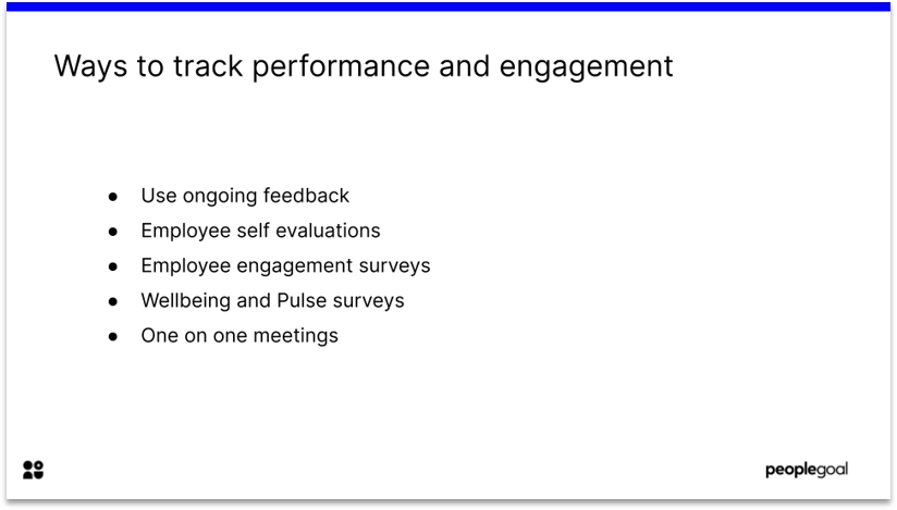 Ways to Track Engagement during Change