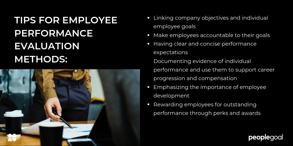 employee performance-evaluation methods tips