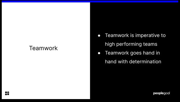 High Performing Teams - teamwork