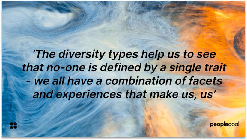 Diversity Types Diversity and Inclusion quote