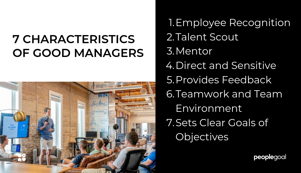 7 Characteristics of a good manager