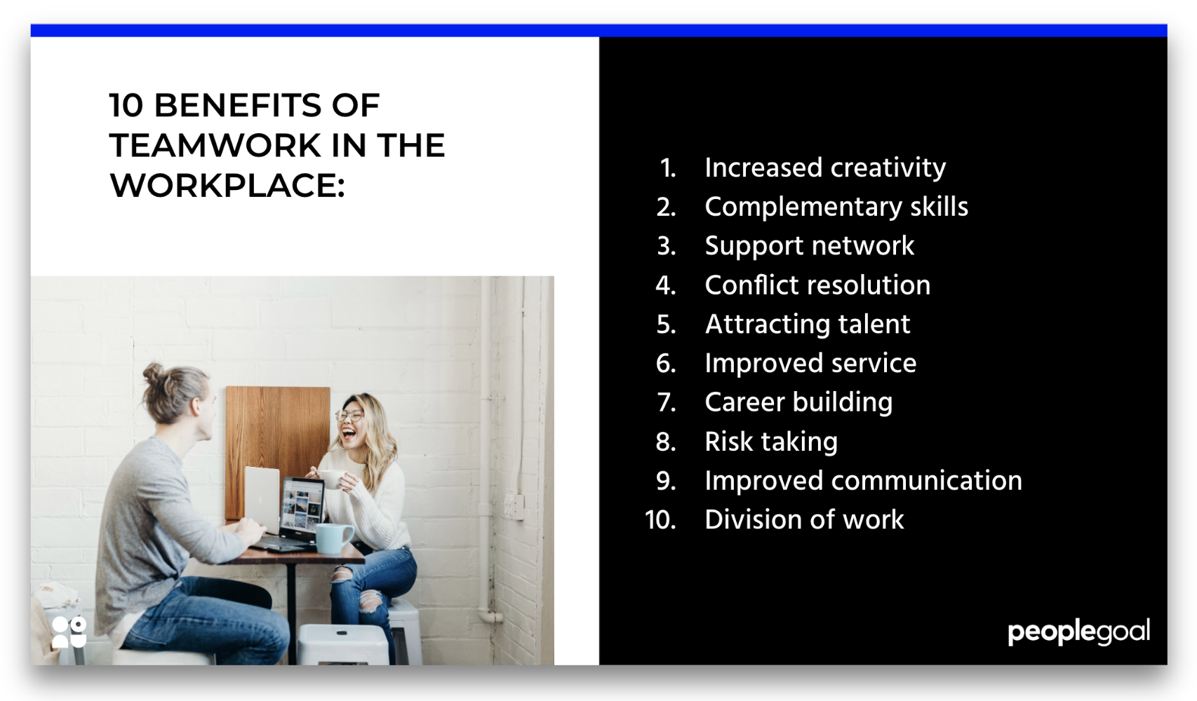 10 benefits of teamwork in the workplace
