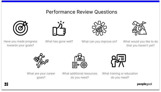 Performance reviews - questions