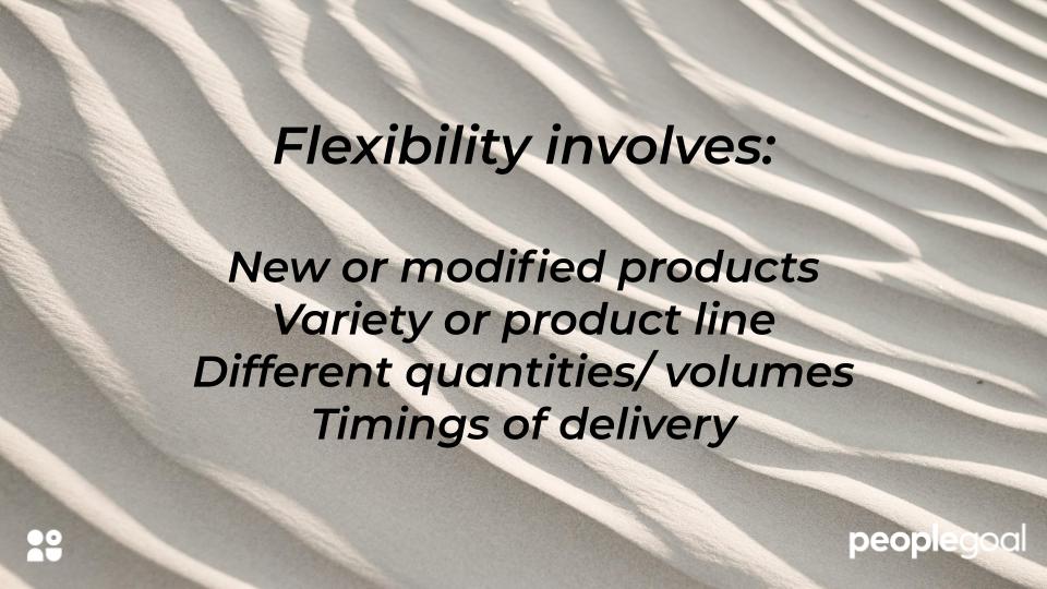 performance objectives flexibility