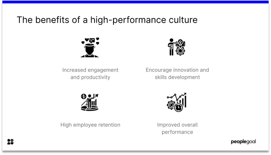 benefits of a high performance culture