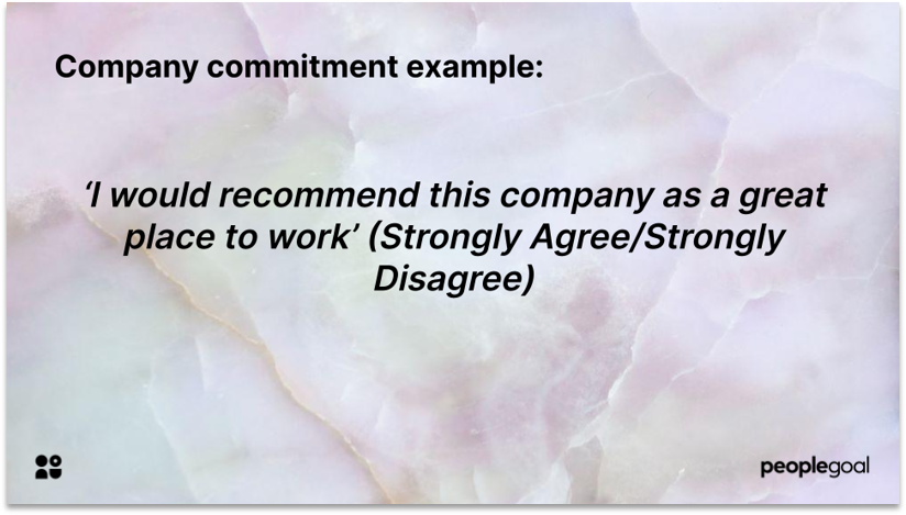 Measuring Organizational Commitment