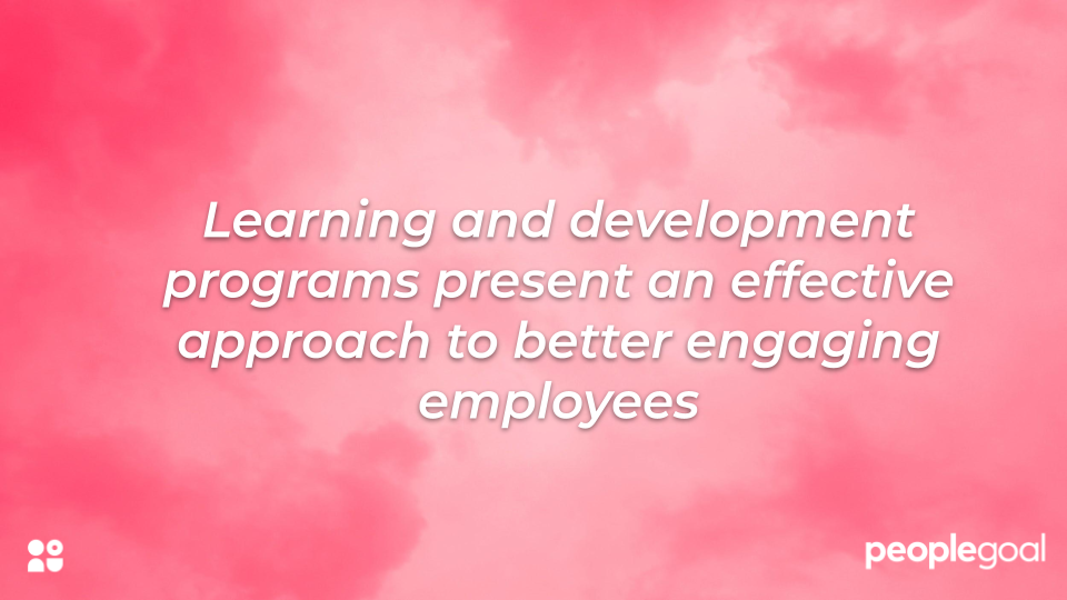 Talent definition - learning for better engagement
