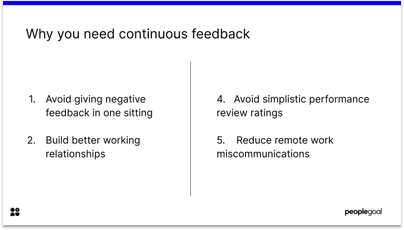 Improve Employee Engagement with Continuous Feedback