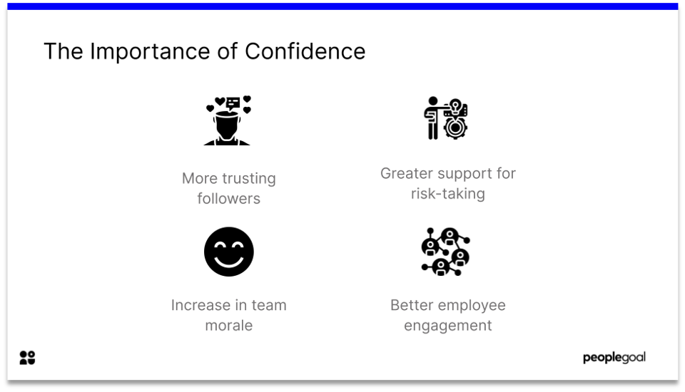 Qualities of a leader - importance of confidence