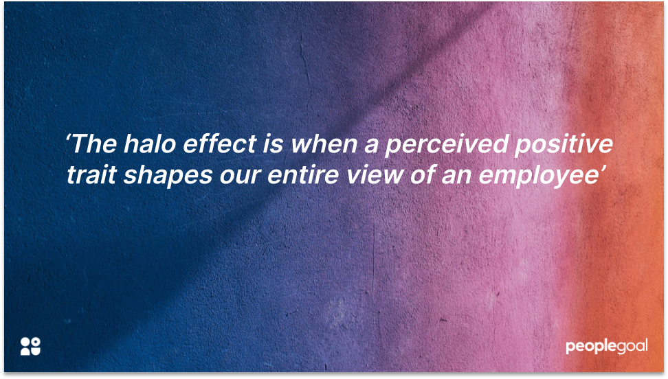 Halo Effect Performance Reviews