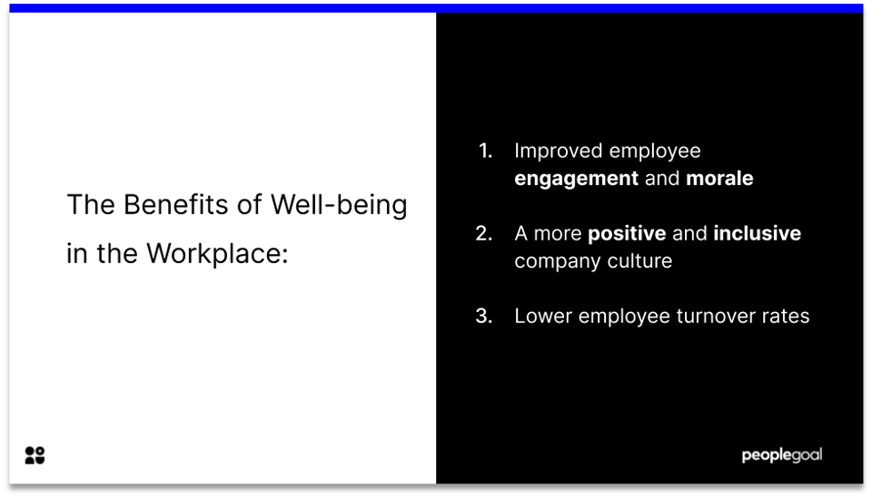 benefits of wellbeing initiatives