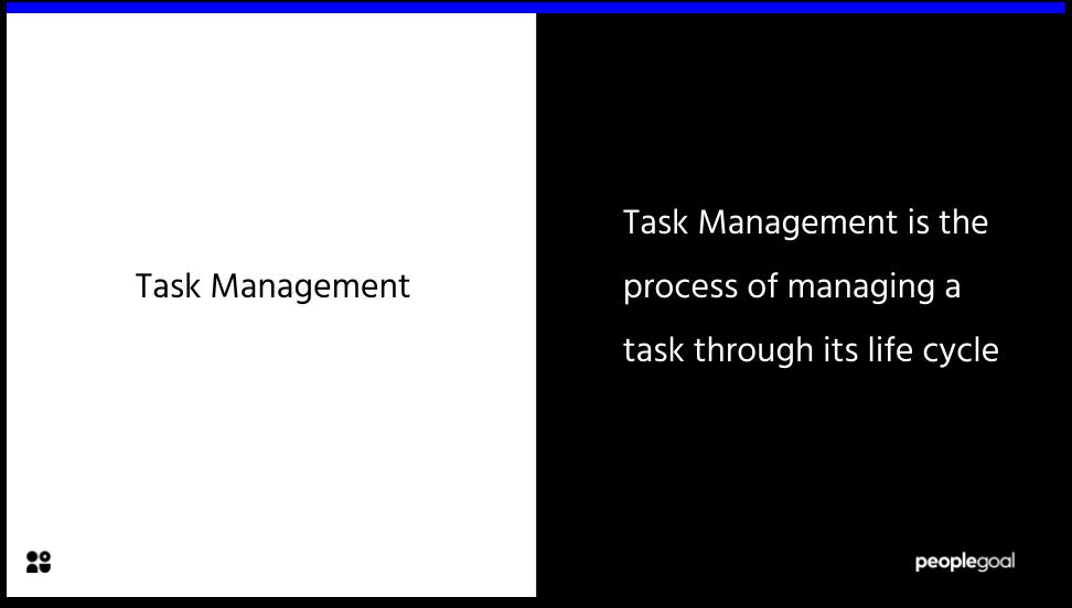 Task Management Definition