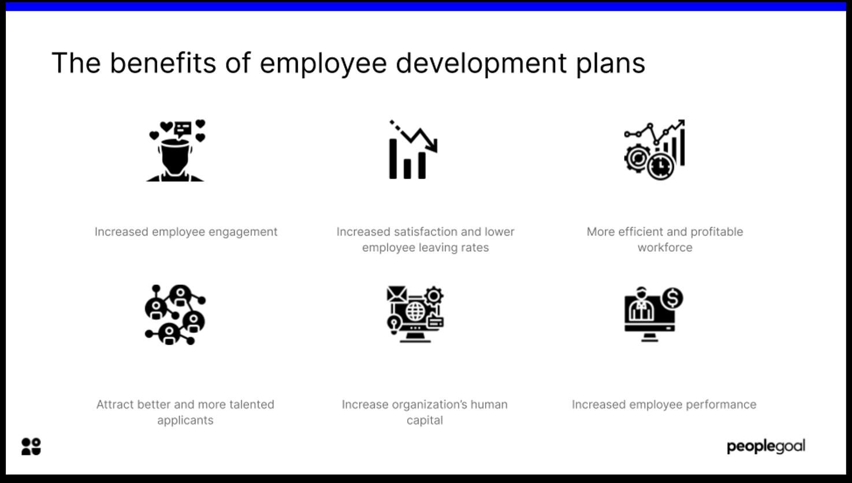 benefits of employee development plans