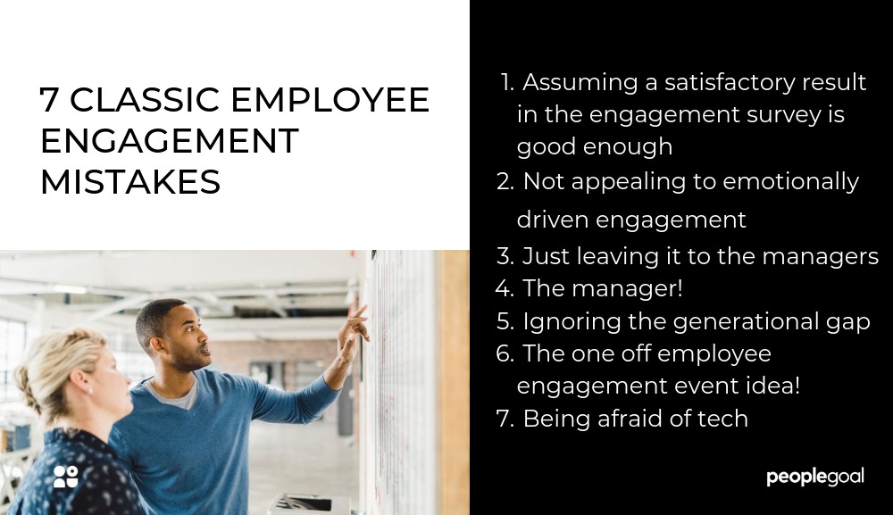 employee engagement mistakes