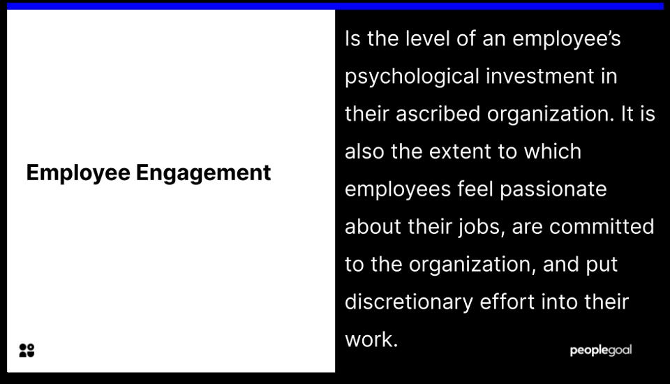 Employe Engagement definition