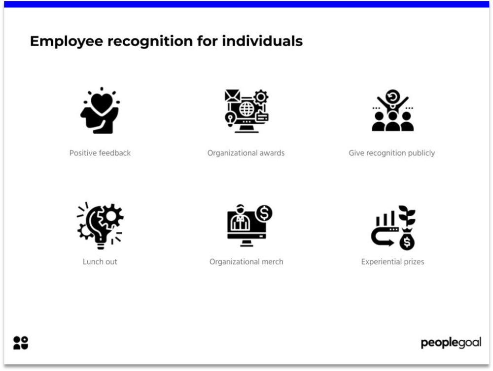 Employee Recognition for Individuals