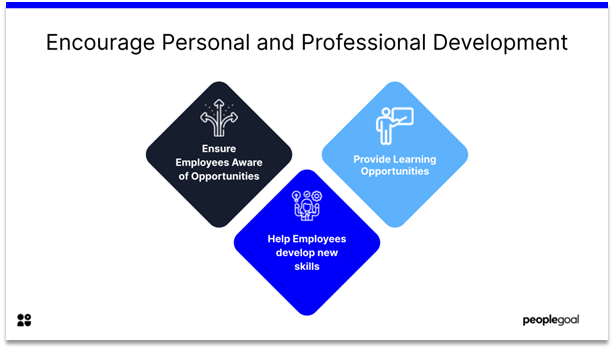 Connected Employees - Encourage Personal and Professional Development