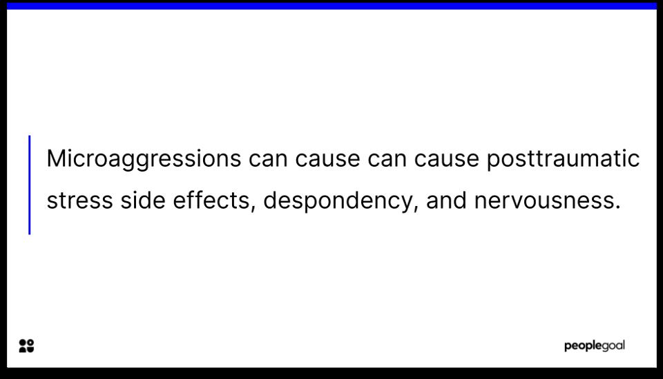 microaggressions- stats