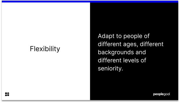 Communication- Flexibility