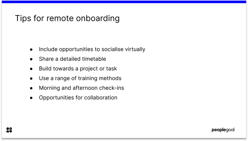 Employee satisfaction and remote onboarding