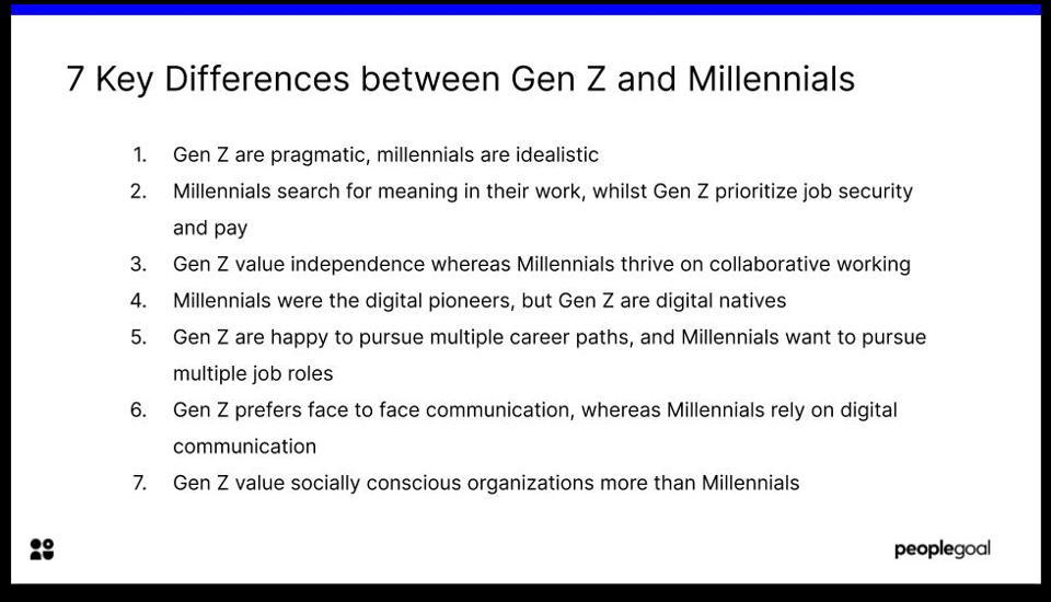 gen z vs millennials key differences
