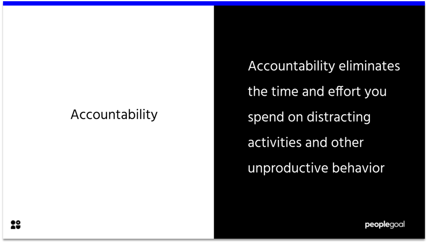 accountability - manager comments for the next review cycle