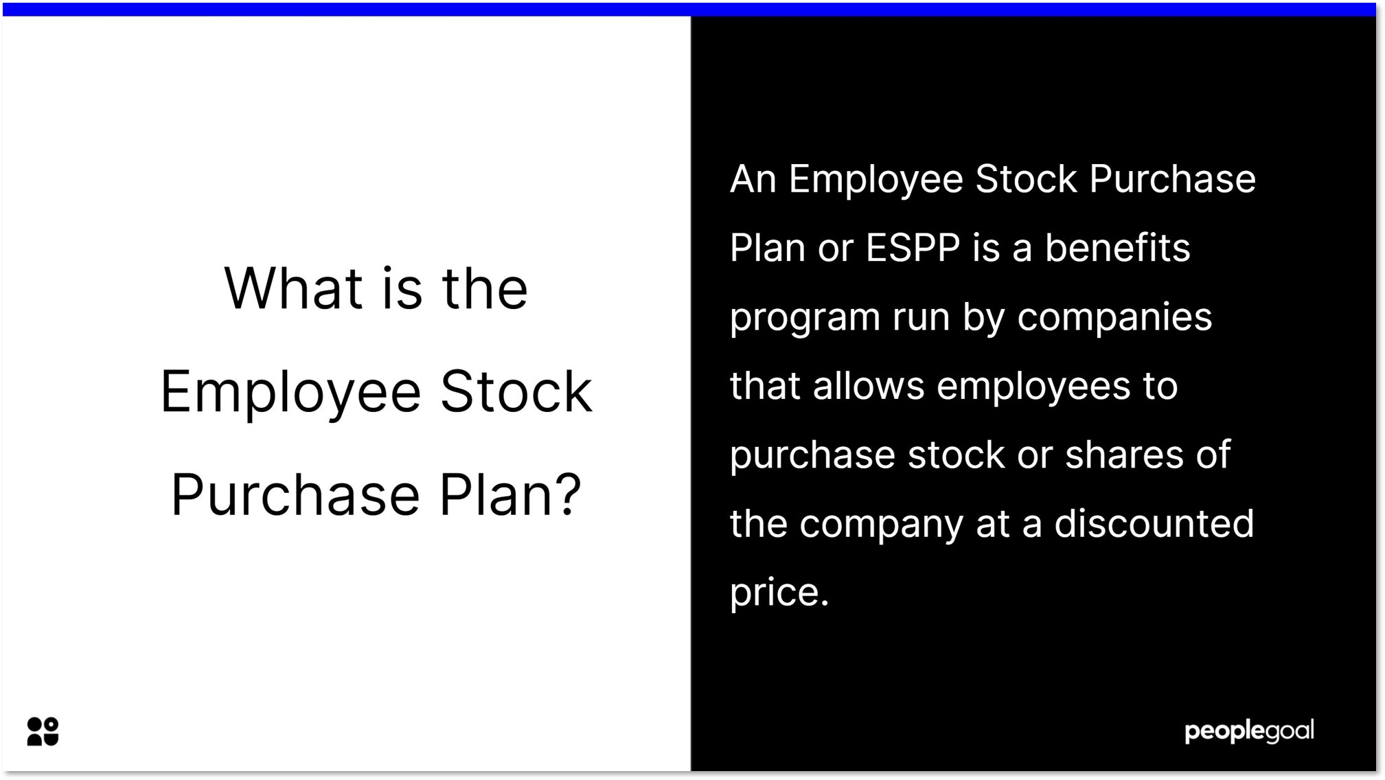 what is an employee stock purchase plan