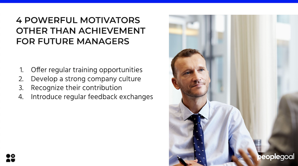 4 Powerful Motivators other than Achievement for Future Managers