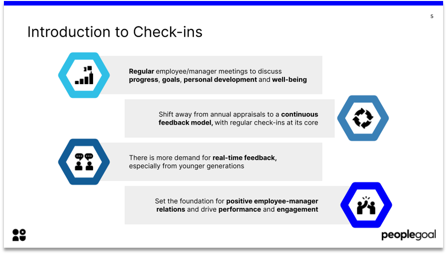 introduction to check-ins