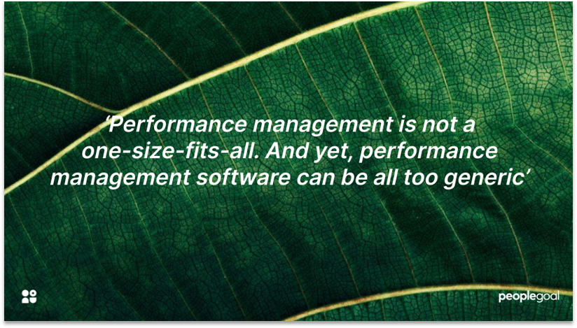 Performance Management Tools Problems