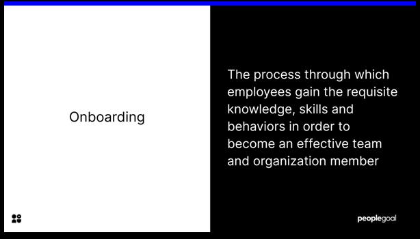 Onboarding - definition