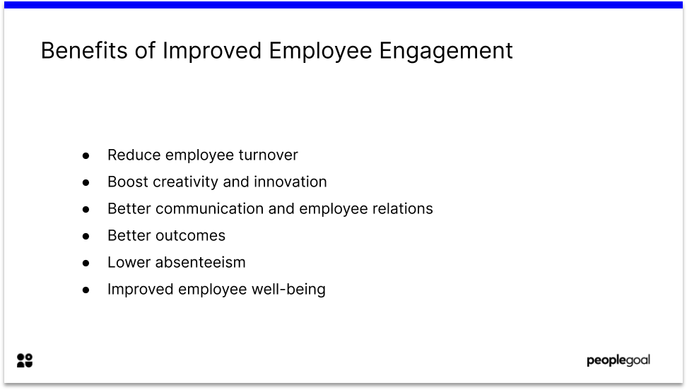 Benefits of Improved Employee Engagement through Employee engagement software
