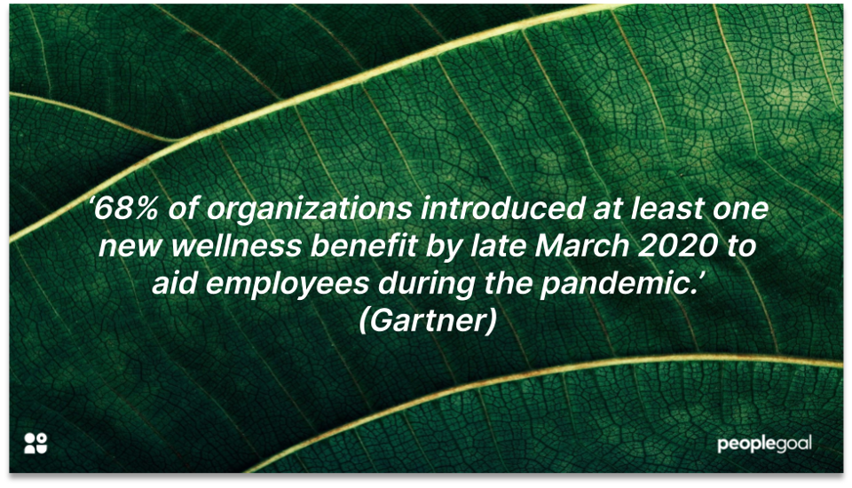 employee wellbeing initiatives Gartner