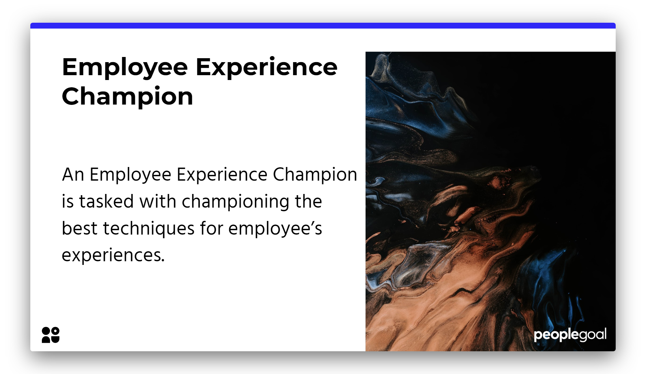 Job titles in business Employee Experience Champion