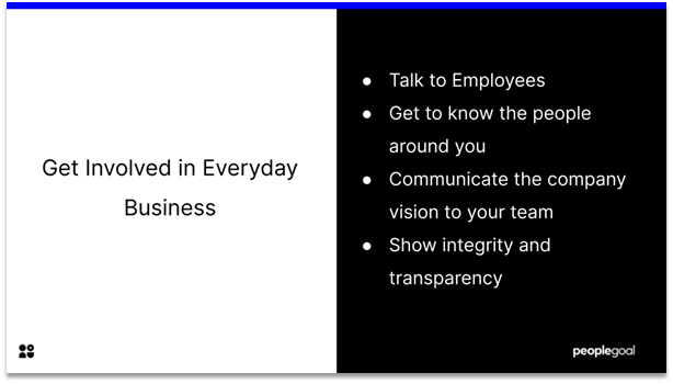 Connected Employees - Get involved in everyday business
